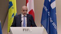 Ijambo rya Gianni Infantino amaze gutorerwa kuyobora FIFA
