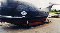 Ex SAS trooper to sail Atlantic in giant homemade whale