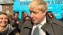 'Donnez-moi un break' says Johnson