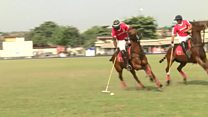 'Playing polo changed my life'