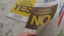 Leaflets from 1975 referendum kept by Cambridgeshire man