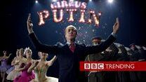 プーチン氏のパロディ 「ユーロビジョン」で話題に