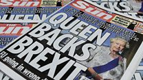 Sun Editor defends 'Queen backs Brexit' headline as accurate