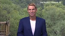 Watch: Shane Warne defends his charity to Australian TV