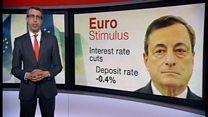 ECB追加緩和 金融政策の限界指摘も