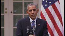 オバマ米大統領、「トランプは自分のせいじゃない」