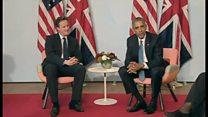 オバマ氏のキャメロン英首相批判が明るみに