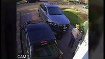 Carjackers strike after man kissed wife goodbye