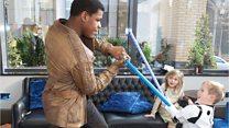 Boy's Star Wars wish comes true