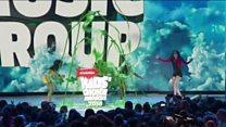 Green slime star of Kids' Choice Awards