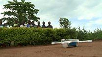 Igerageza rya Drones muri Malawi