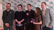 Young film makers meet Hollywood stars