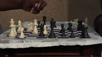 Teacher introduces chess to South African school children