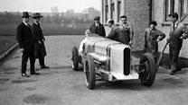Land speed record car returns
