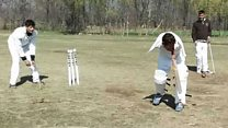 The cricketer with no arms