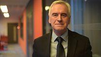 Budget 2016: Shadow Chancellor John Mcdonnell reacts