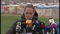 アンジェリーナ・ジョリーさん、難民支援訴える