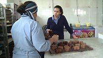 Baking cakes in Tunisian women's prison