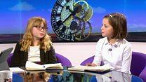 Political interviewer becomes interviewee