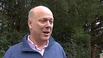 Grayling: IDS quitting 'not about Europe'
