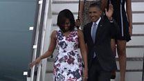 オバマ米大統領、キューバ訪問