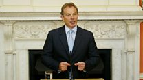 Tony Blair: No support for terrorism in Ireland