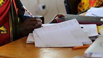 Kenya secondary school exams