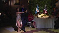 Obama aceza Tango muri Argentine