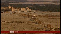 古代都市パルミラをISから奪還 破壊の後に
