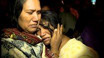 パキスタンの公園で自爆攻撃か 60人以上死亡