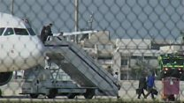 'Hijacked' EgyptAir plane lands in Cyprus