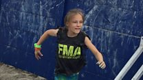 Nine-year-old completes 24-hour US Navy race