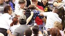 Trump rally violence: 'Someone could get killed'
