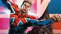 Can you be a superhero with a British accent?