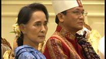 ミャンマー スー・チー氏「首相級」の法案を準備