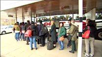 Rail passengers face 'nightmare' journey