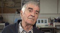 Actor John Cairney turns artist at 86
