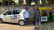Uber versus Indian rickshaw