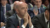 FIFA新会長にも疑惑 パナマ文書