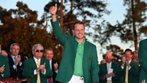 'He was out-driving me at 12' - Danny Willett's dad