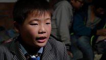 China's 'left behind' children