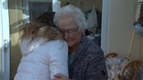 Tears as scam victim meets fundraiser