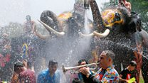 Thailand tones down Songkran