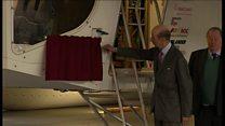 Cardington airship officially named