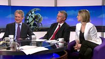 Kuenssberg and MPs review PMQs clashes