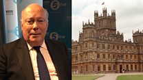 Julian Fellowes: I'm already plotting Downton Abbey film
