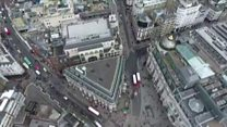 London drone footage