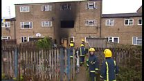 Family home devastated by fire