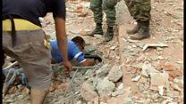 エクアドルで大地震 少なくとも246人が死亡