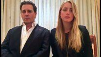 豪に犬持ち込み デップ夫妻が謝罪ビデオ